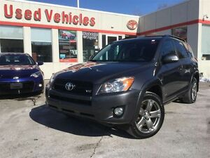 2012 Toyota RAV4 Sport, V6, Sunroof, Alloys, Ke