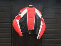 BKS Motorcycle Leathers - 2 piece zip together