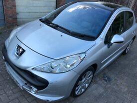 2009 Peugeot 207 1.6HDI 90 Sport 5 Door *£30 TAX*