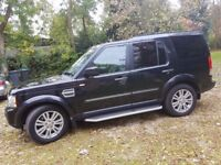FULLY LOADED LAND ROVER DISCOVERY 4 3.0 SDV6 HSE FINISHED METALLIC BLACK FULL LEATHER INTERIOR.