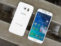 Samsung S6 32GB White Unlocked Grade A Condition with Warranty!