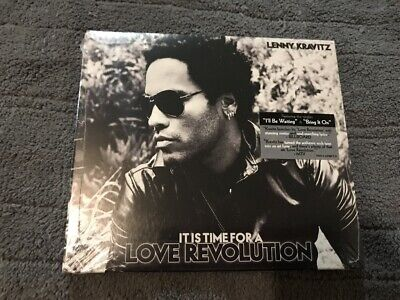 NEW SEALED CD LENNY KRAVITZ IT IS TIME FOR A LOVE REVOLUTION