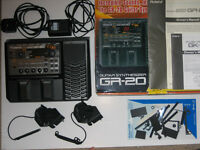 Roland GR-20 Guitar Synth with 2 GK3 pickups