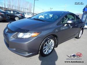 2012 Honda Civic Cpe EX * SUN ROOF *