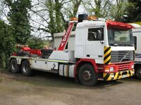 Volvo F10 Recovery Vehicle with Boniface Interstater mk3c Underlift swl 8310kgs