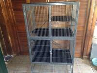 cage for rabbits, ferrets, chinchillas, guinea pigs, rats etc