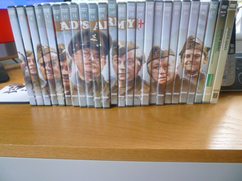 25 Dad's Army BBC Dvd's New and Sealed.