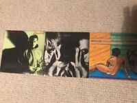 Mick Karn x 2 and Dalis Car x 1, 7 inch vinyl singles. See description for full list
