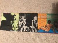 Mick Karn x 2 and Dalis Car x 1, 7 inch vinyl singles. See description for full list