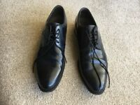 Men's Ecco black leather shoes size 11