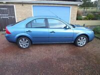 Nov 2001 Ford Mondeo LX 5 dr Hatchback. Same Owner Since Aug 2002- Only 31,000 genuine miles.
