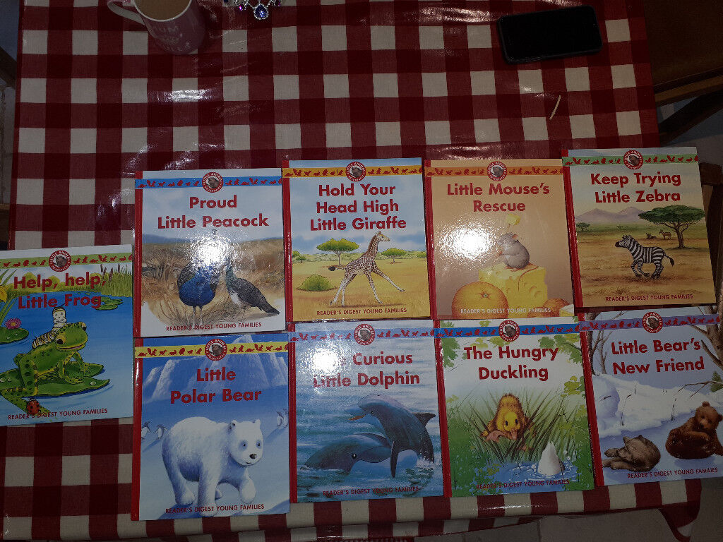 Selection of Hard back Little Animal Adventures books from Reader's digest - x 9