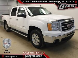 Used  2013 GMC Sierra 1500 4WD Crew Cab SLT-One Owner,Touch Scre