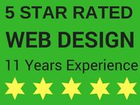 5 STAR GOOGLE & YELL RATED - Professional Website Design - Over 11Years Experience - SEO MARKETING