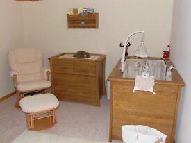 Mama's & Papas Solid Oak Furniture Set