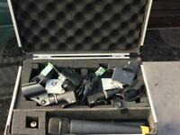 2 Line 6 Microphones with flight case