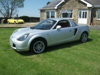TOYOTA MR2 ROADSTER 1.8 VVTI WITH A/C choice of 4