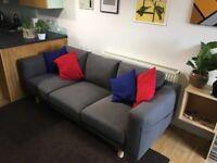 Nearly New IKEA Norsborg 3 Seater Sofa