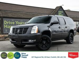 2012 Cadillac Escalade ESV / EXTENDED / LEATHER / SUNROOF / NAVI