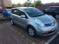 Nissan note 1.4 petrol 2008