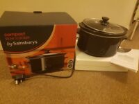 Compact Slow Cooker (Sainsbury's)