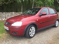 Vauxhall corsa 1.2 4 door very low miles fsh