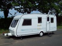 MBS 4/5 Berth Touring Caravan For Hire, based in Plymouth, Devon.
