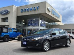 2014 Ford Focus TITANIUM-NAVI |SUNROOF| LEATHER|$DOWN $68 WEEKLY