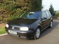 2002 VW Golf 1.8 GTI Turbo, 1 Owner, MOT'd Till Aug 17