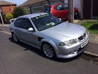 RARE XPOWER MG ZS 2.5L SILVER 2004 180BHP V6 MK2 FACELIFT X POWER BODY KIT LOW MILEAGE & MOT
