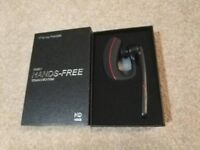 Brand new Bluetooth Headset Ear Hooks Hands Free Wireless V4.1 Earpiece Single IPX4 Sweatproof