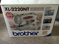 Brother xl 2220nt sewing machine new, unused