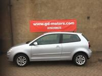 VW POLO 1.2 (08) 1 LADY OWNER , 1 YEAR MOT, WARRANTY £1795