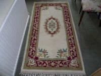 Rug- Indian approx 6 ft x 3 ft- excellent condition