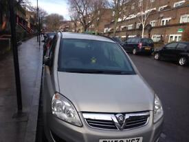 Vauxhall zafira 7 seaters 1.6 58 plate 81km