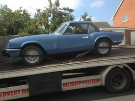 Wanted Mgb or triumph spitfire