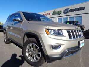 2015 Jeep Grand Cherokee Limited--Remote Comfort Start--High Riv