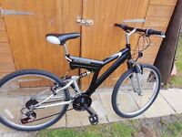 Gents Blackline Mountain Bicycle excellent condition