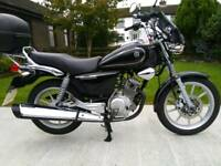 2011 Yamaha ybr customs 125