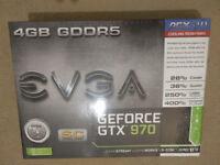 EVGA GTX 970 SC ACX 2.0 Boxed with warranty
