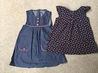 Debenhams dresses 12-18 months