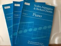 ABRSM music exam book collection