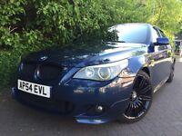 """BMW 535d M sport 272 BHP FSH Auto Widescreen sat nav DVD player Heated sport seats 19"""" spider wheels"""