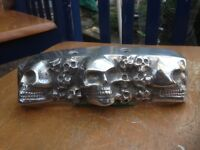 Motorcycle Rear number plate light cover