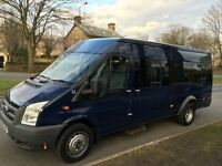 CHEAP BRADFORD 12-17 SEATER MINIBUS HIRE - AIRPORTS - ASIAN WEDDINGS - THEME PARKS - PARIS
