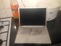 Laptop x2 , 1 faulty 1 working, apple powerbook , toshiba