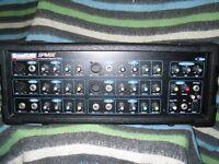 SIX CHANNEL 100 WATT100 WATT SOUND LAB MIXER AMPLIFIER IN NEW CONDITION