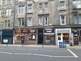Super 2 bedroom furnished Victorian tenement 3rd floor flat available in Great Junction St, Leith