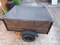 Trailer 4ftx3ft with electrics.