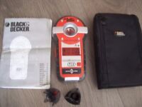 Black & Decker Laser Plus BDL230S. Laser Level, Live Wire, Stud Finder Complete.